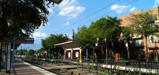 One development that makes Downtown Plano more walkable is its DART train stops. Stephanie Kuo