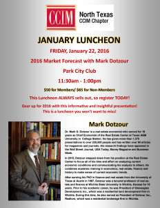 CCIM North Texas January Luncheon